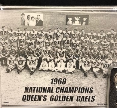 The 1968 Golden Gaels Football Team Athletic Award image
