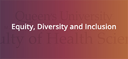 Faculty of Health Sciences Equity, Diversity and Inclusion Fund